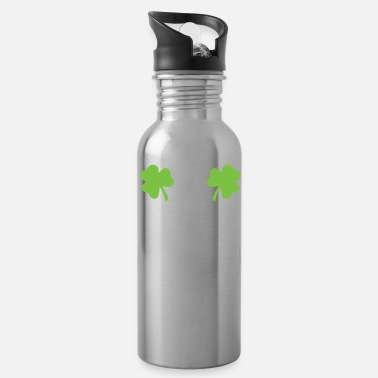 Party St Patricks Clover Boobs - Water Bottle