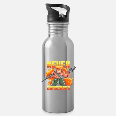 Soldier Of Fortune Soldier of Fortune Game Retro - Water Bottle