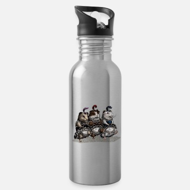 Can Can-can Guinea Pigs - Water Bottle