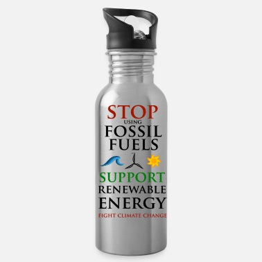 Stop using Fossil Fuels - Drinkfles