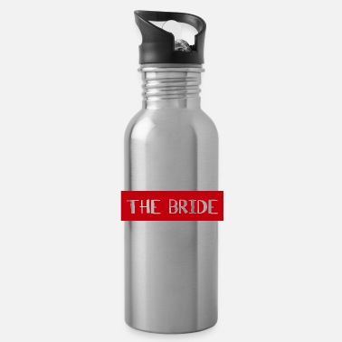 Bruiloftsreceptie The Bride - Wedding Shower Team Bride Crew - Drinkfles