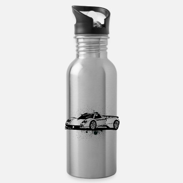 Supercar Cool supercars white - Water Bottle