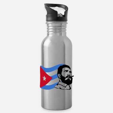 Castro fidel castro stencil - Water Bottle