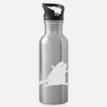 Purr cat purrs - Water Bottle