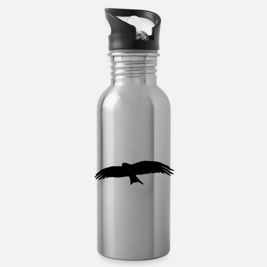 Birds Mugs & Drinkware - bird - Water Bottle silver