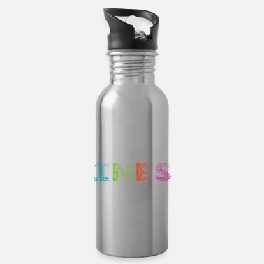 Ines Ines Buchstabe Name - Trinkflasche