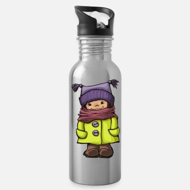 Winter winter - Water Bottle