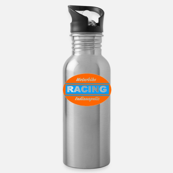 Racing Tassen & Becher - Racing - Trinkflasche Lightsilver