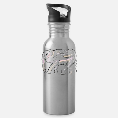 The elephant - Water Bottle