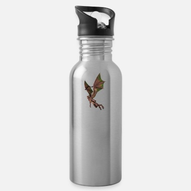 Bewinged Baptism, Satan, Gargoyle, Winged, Devil, Vampire - Water Bottle