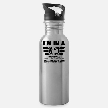League gift, gift, birthday, relationship, RUGBY LEAGUE - Water Bottle