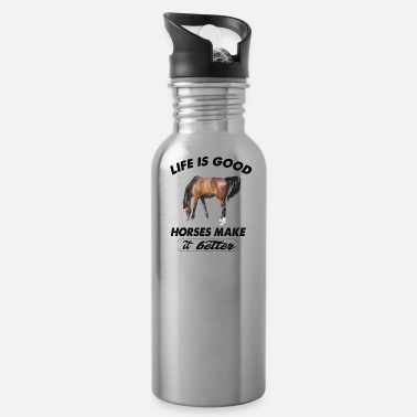 Horse horses - Water Bottle