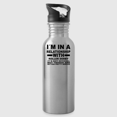 gift gift birthday relationship ROLLER DERBY - Water Bottle