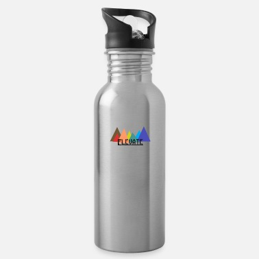 Elevator Elevated to the Mountains - Water Bottle