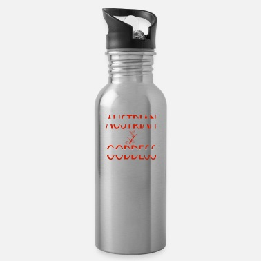 Goddess Austrian Goddess - Austrian Goddesses Power - Water Bottle