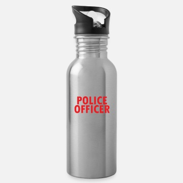 Arrested Police, detention, arrest warrant - Water Bottle