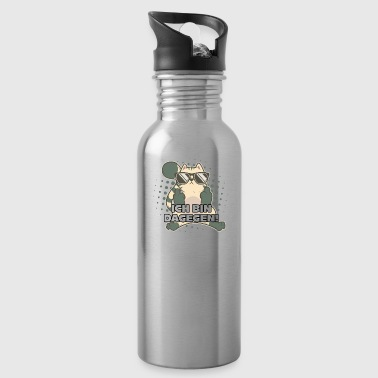 Cat Middle Finger Cats I AM THERE - Water Bottle