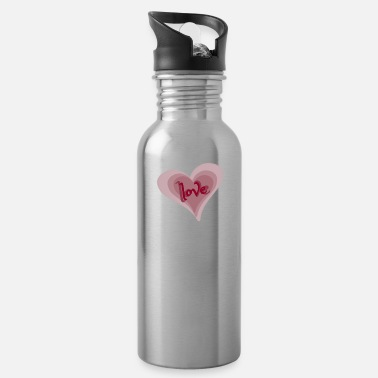 Love With Heart Love with Heart - Trinkflasche