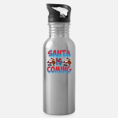 Coming Of Age Santa is coming - Water Bottle