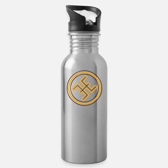 Symbol  Mugs & Drinkware - The Amazigh Symbol - Water Bottle silver