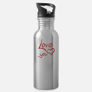 Love You love you - love you - Water Bottle