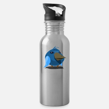 Bird Illustration Bird / Bird Illustration / Abstract / Low Poly - Water Bottle