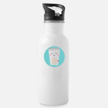 Coffee Latte Coffee latte - Water Bottle