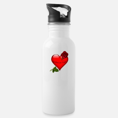 Cuore La Rosa del Cuore - Water Bottle