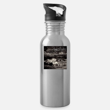 Torrent Gothic, night flight, rock in the surf ... - Water Bottle
