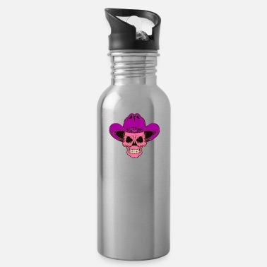 Dead Dead Head Dead Cowboy - Water Bottle