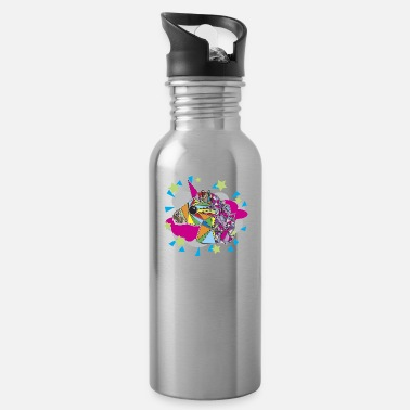 Mythical Collection unicorn in color - Water Bottle
