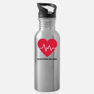 Northern Ireland Heart Northern Ireland - Water Bottle