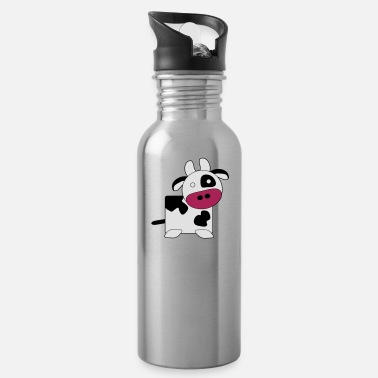 Large Cow (Large) - Water Bottle