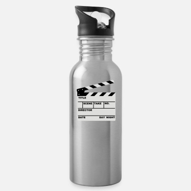 Clapperboard clapperboard (writable flex) - Water Bottle