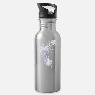 Lilac Lilac tulips - Water Bottle