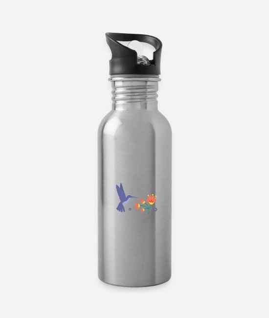 Yoga Tassen & Becher - See the Good in all Things - Trinkflasche Lightsilver