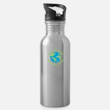 Healing Heal the earth heal our future - Water Bottle