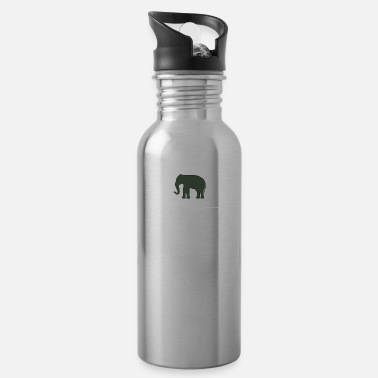 The green Elefant - Trinkflasche