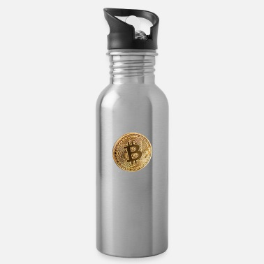 Piece bitcoin piece - Water Bottle
