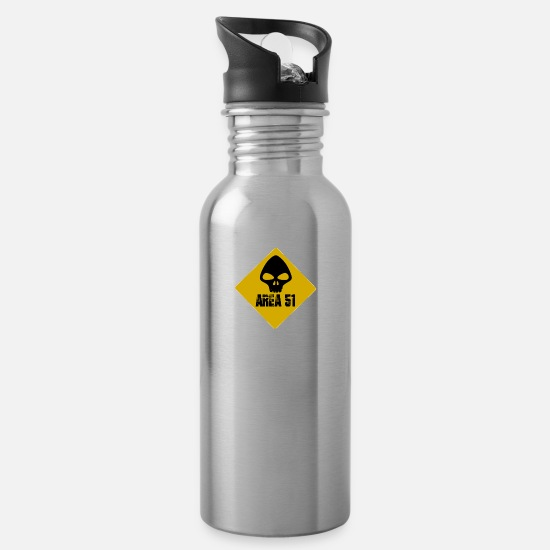 Trend Tassen & Becher - Area51 Keep out or Invade Shirt - Trinkflasche Lightsilver