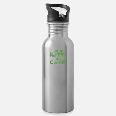 Camping Camping, Caravan, Camping, Nature, Camping - Water Bottle