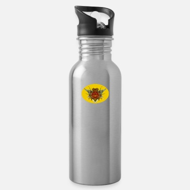 Rosary (27c) Rosary queen - Water Bottle
