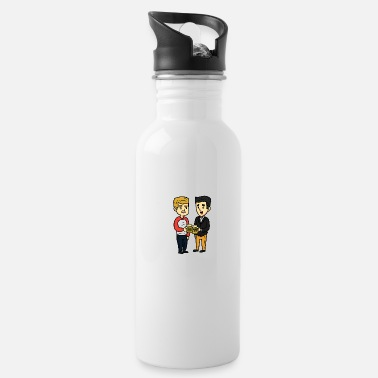 Coffee Drinkers Thanksgiving harvest fall gift Thanksgiving - Water Bottle