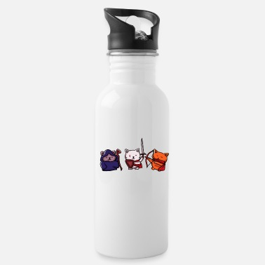 Clan Dungeons & Cats Gamer Gaming Zocker RPG gift - Water Bottle