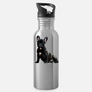 Dogs dog, dog, dog head - Water Bottle