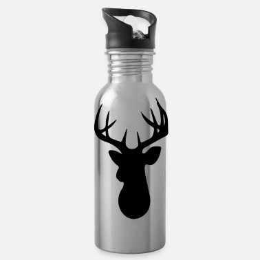 Stag Stag Head - Water Bottle