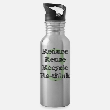 Reduce Reuse Recycle Re-Think - Gourde