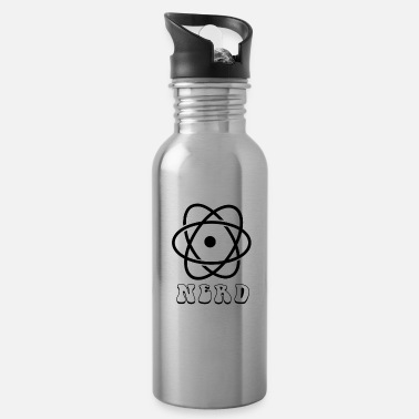 Radioactive Nerd for science - nerd for science - Water Bottle
