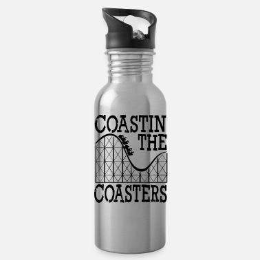 Roller Coaster Coastin The Coasters - Roller Coaster - Water Bottle