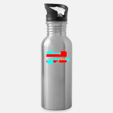 Funny Gym Be in the gym - Water Bottle